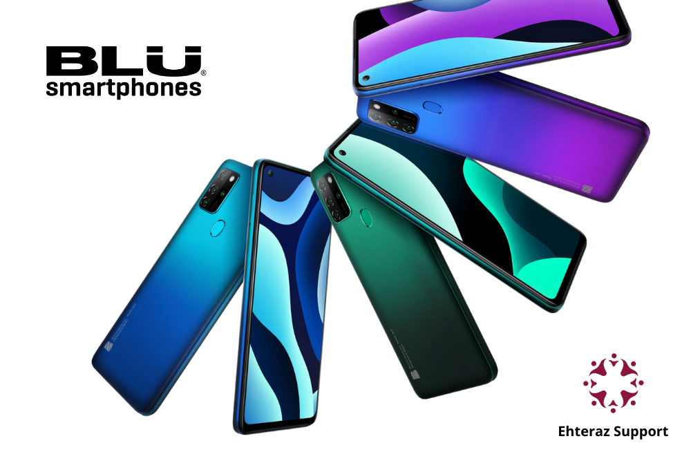 BLU Smartphones with Ehteraz Support